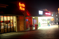 First Night Images of a Quiet Rehoboth Boardwalk & Downtown