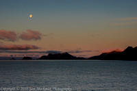 Approaching Seward Alaska just after dawn