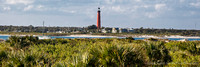 Ponce Inlet Lighthouse viewed from Smyrna Dunes Park