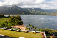 View from St. Regis Hotel, Kauai