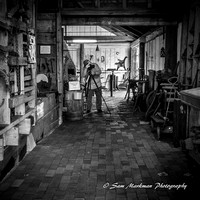 CCC member Ray Bojarski photographs Blacksmith Shop