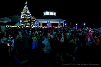 The Rehoboth Christmas Tree is Lit - 2012!