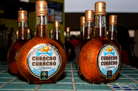 Curacao Liqueur sold at dock