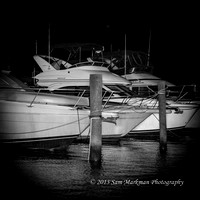 Our friend Ivan Eland's yacht is the Meridian docked in the Rehoboth Bay Marina