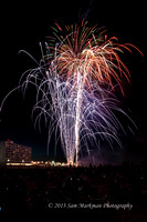 July 4th 2013 Fireworks - Rehoboth Beach, Delaware