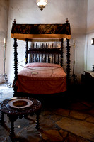 Spanish Governor's Palace - 17th Century Rosewood Bed