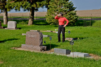 Diane's Grandfather and Grandmother's Grave Site