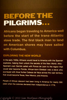 African travel to America began approx 500 years ago.