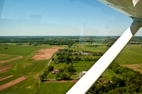 Taking off from Manassas Regional Airport