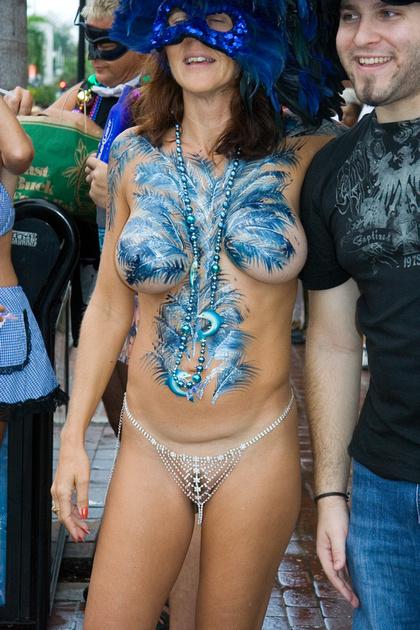 Naked street flashers fantasy fest 15