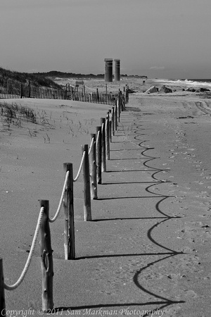 WWII Watch Towers in Cape Henlopen State Park, Delaware