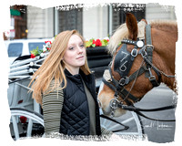 Emma Ward & Carriage Horse Victor