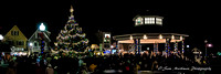 Large crowds gather at the Bandstand to enjoy Rehoboth Beach's brightly lit tree!