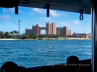 Passing Paradise Island and the Atlantis