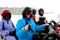 Snowmobiling in Routt National Forest - Rabbit Ears Pass